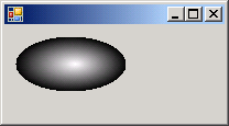 Fill an ellipse setting CenterColor and SurroundColors