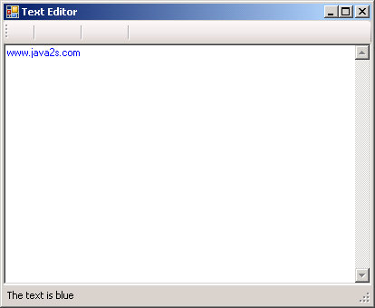 Simple Text Editor