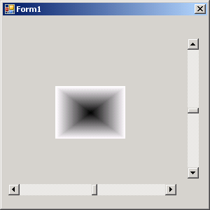 Use Scroll Bar to set rotate, X position and repaint
