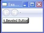 A Beveled Button with BevelBitmapEffect