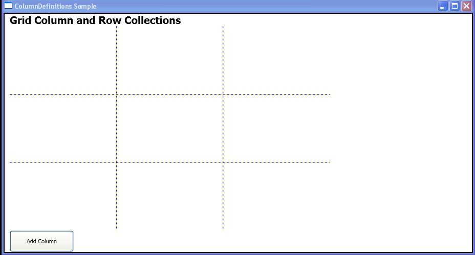 Add a ColumnDefinition to Grid