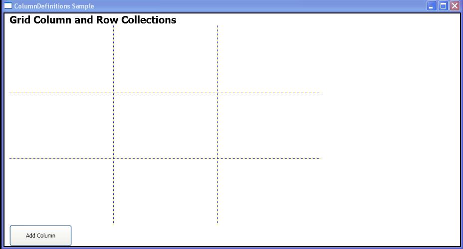 Add a ColumnDefinition to Grid