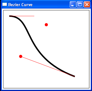 Animate BezierCurve