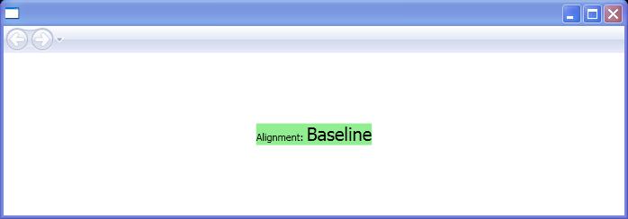 BaselineAlignment: Baseline