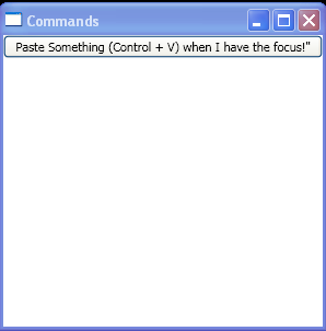 Bind ApplicationCommand to a handler