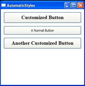 Clear customized style with Null