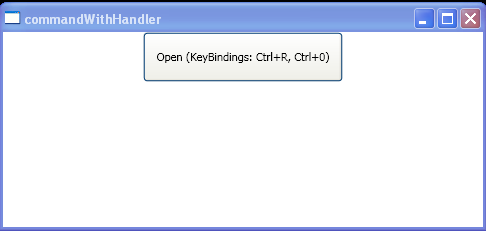 Command Handler Command Binding in Xaml