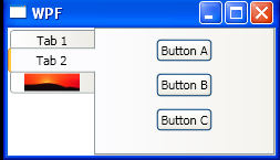 Display Content in a Multitabbed User Interface
