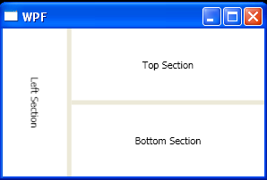 Display Content in Resizable Split Panel