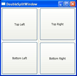 DoubleSplit Window