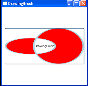Drawing Brush In XAML