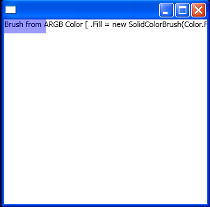 Fill = new SolidColorBrush(Color.FromArgb(100, 0, 0, 255));