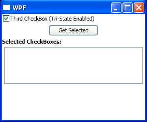 Handles CheckBox Indeterminate events when a CheckBox changes to a indeterminate state.