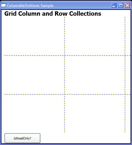 Is Grid ReadOnly