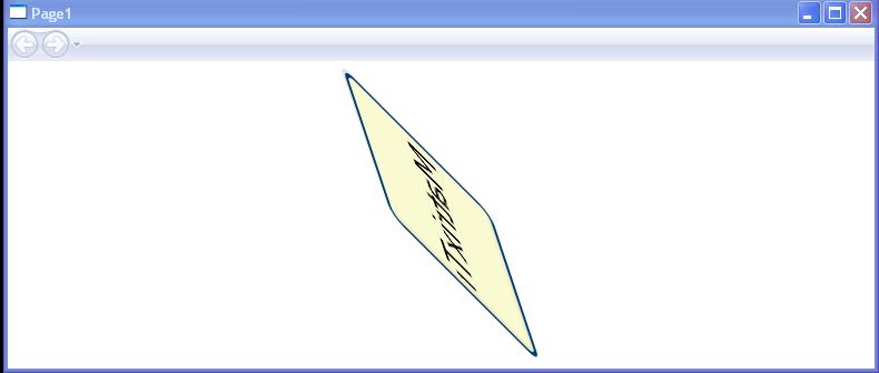 MatrixTransform Sample