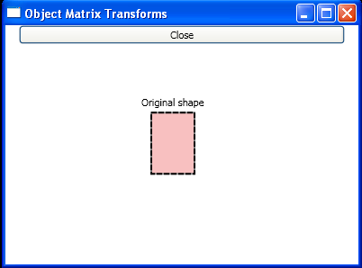 Object Transforms in WPF