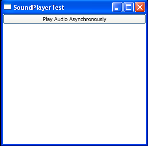 Play Audio Asynchronously