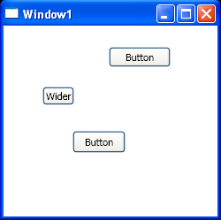 Set button properties with Linq style