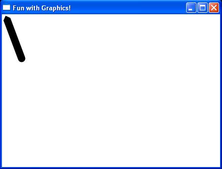 Set cursor for Line shape