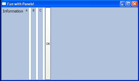 StackPanel with Windows Controls