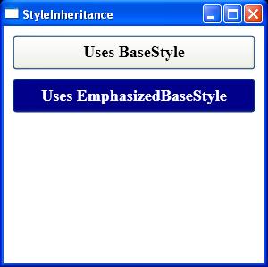 Style Inheritance