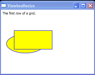 The first row of a grid