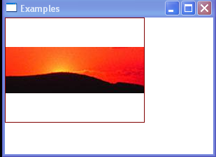 The ImageBrush's content is centered horizontally