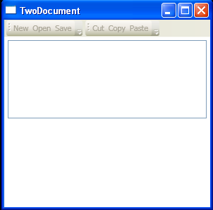 ToolBar and event handler