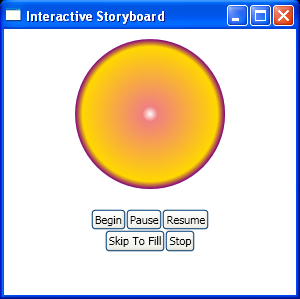 Use Button to skip an Animation with SkipStoryboardToFill