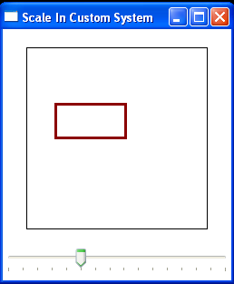 Use Slider to scale a Rectangle