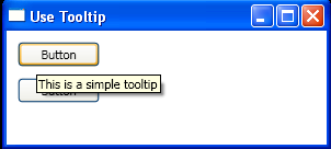 Use Tooltip