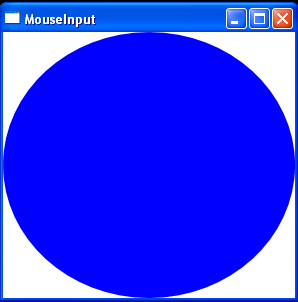 Window On Mouse up event