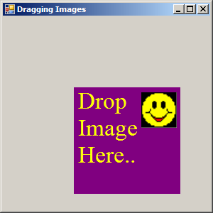 Drag and Drop Image