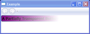 A Partially Transparent Button