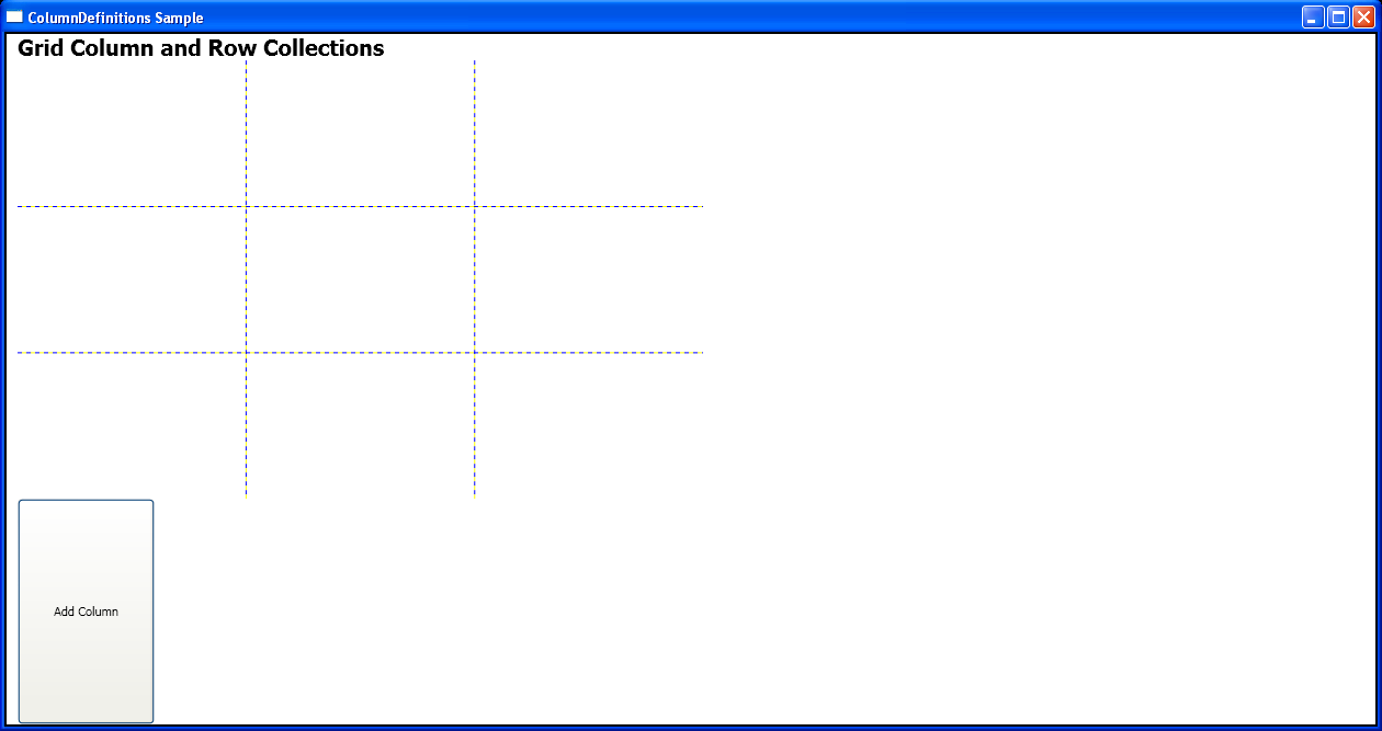 WPF Add A Column Definition To Grid