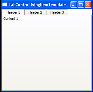 Bind a TabControl to a data source