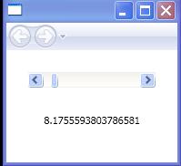 Bind Label To ScrollBar