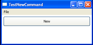 Binding ApplicationCommands.New Command to your own handler