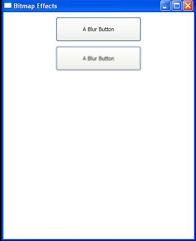 Blur Effect with BlurBitmapEffect