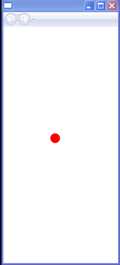 WPF Bouncing Ball