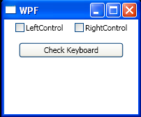 WPF Check The Check Box Based On Key Pressed States