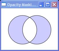 Combines two geometries using the XOR combine mode