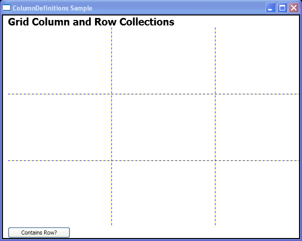 WPF Contains Row