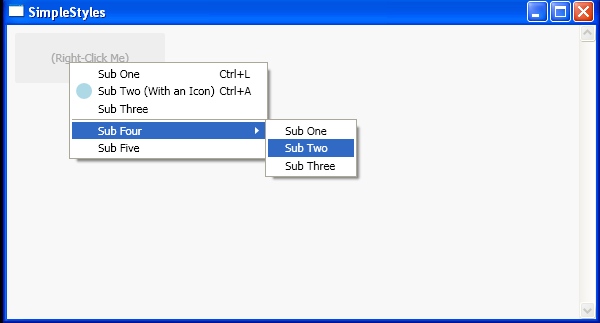Adding ContextMenu to TextBlock