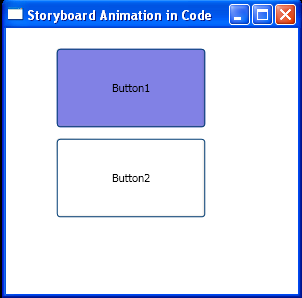 Create animations using the Storyboard in code