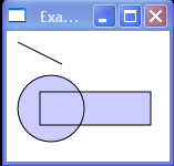 WPF Creates A Composite Shape From Three Geometries This Geometry Group Has A Fill Rule Of Non Zero