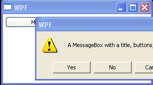 WPF Customize Message Header Button And Image For Message Box