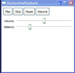 Declarative Playback