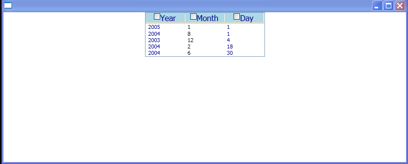 DateTemplate for String : DataTemplate « Windows