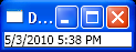WPF Digital Clock